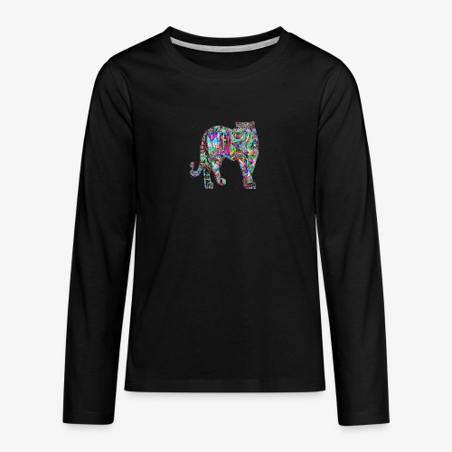 Tigre - T-shirt manches longues Premium Ado