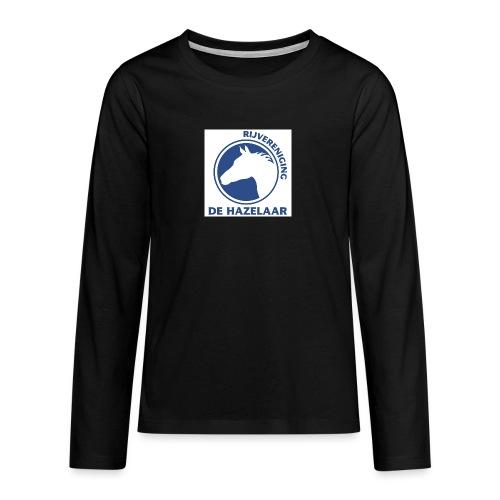 LgHazelaarPantoneReflexBl - Teenager Premium shirt met lange mouwen