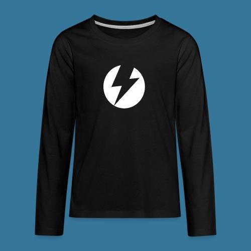 BlueSparks - White - Teenagers' Premium Longsleeve Shirt