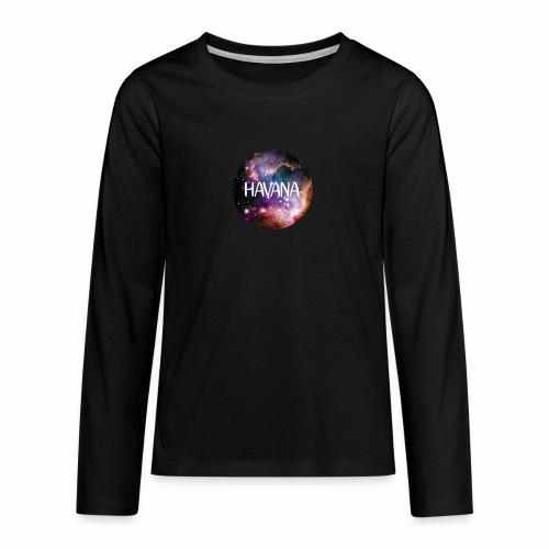 HavanaKosmos - Teenager Premium Langarmshirt