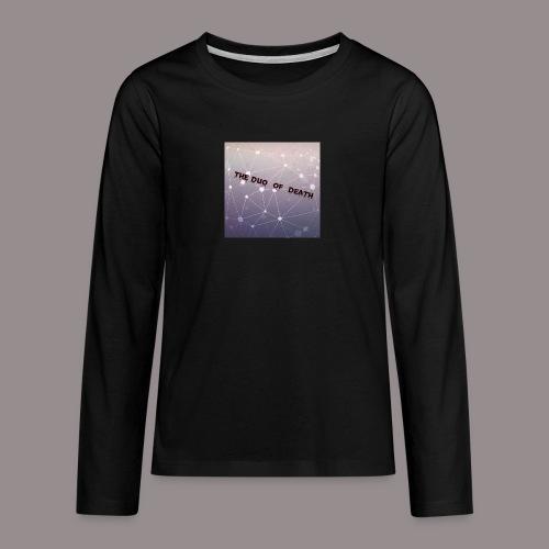 The duo of death logo - Teenager Premium shirt met lange mouwen