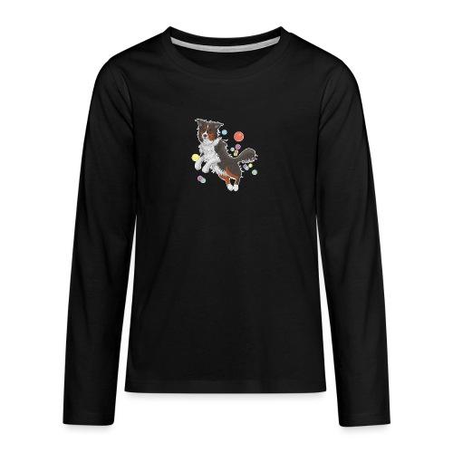 Australian Shepherd - Teenager Premium Langarmshirt