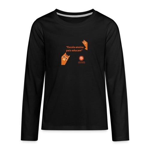 Duna EEE - Premium langermet T-skjorte for tenåringer