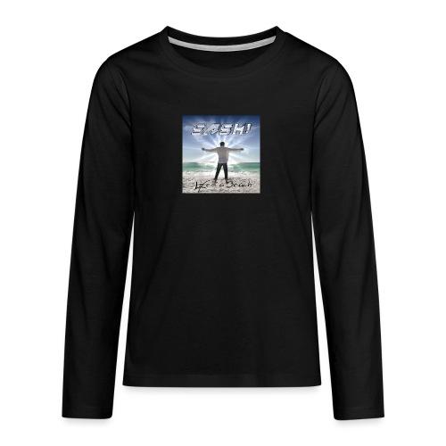 Life Is A Beach Cover - Teenagers' Premium Longsleeve Shirt