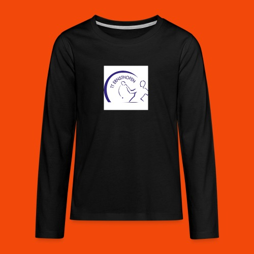 TTE Logo - Teenager Premium Langarmshirt