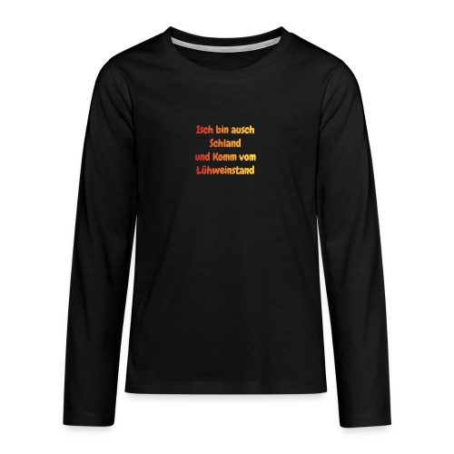 Glühwein Trinker - Teenager Premium Langarmshirt