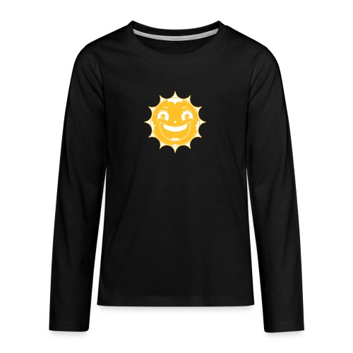 Happy Sun - Teenager Premium Langarmshirt