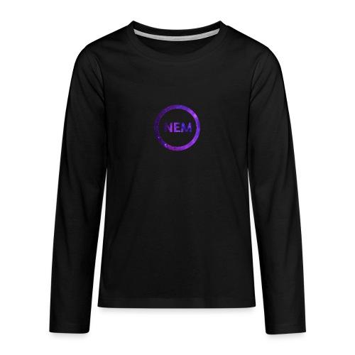 NEM OWNER - Teinien premium pitkähihainen t-paita