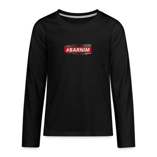 HASHTAG BARNIM - Teenager Premium Langarmshirt