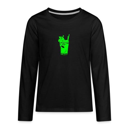 zz_ultima_verde_moji_5_900x900_nuovo_rit - Maglietta Premium a manica lunga per teenager