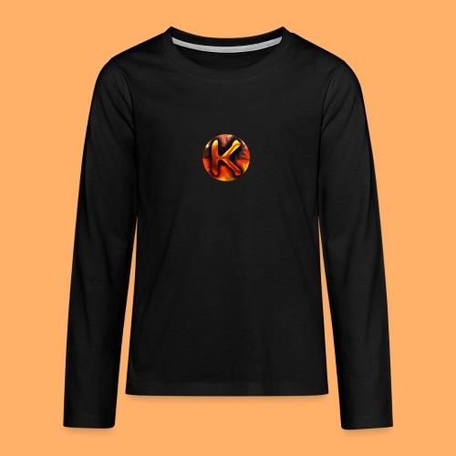 Kai_307 - Profilbild - Teenager Premium Langarmshirt