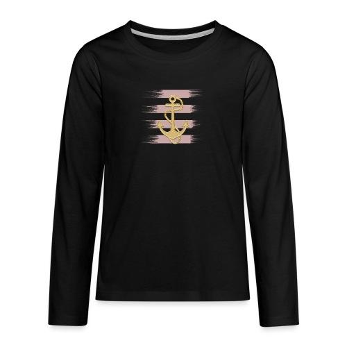 Anker - Teenager Premium Langarmshirt