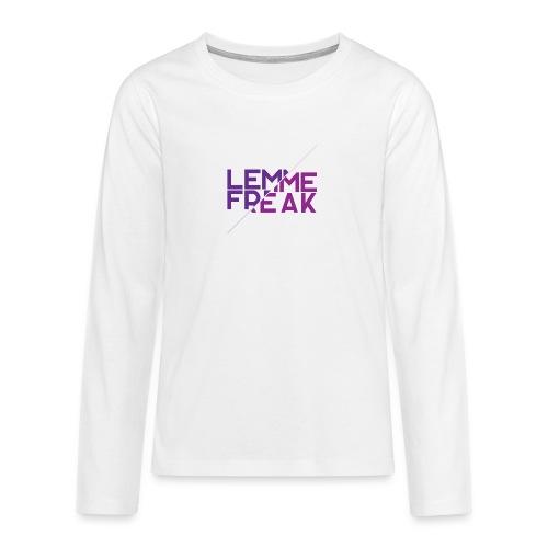 Lemme Freak - Teenager Premium Langarmshirt