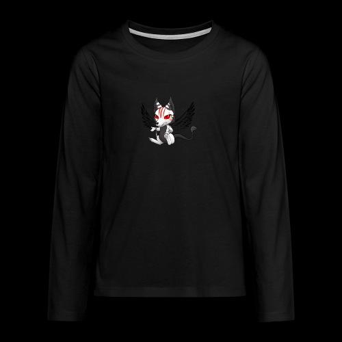 Démon Wolfire - T-shirt manches longues Premium Ado