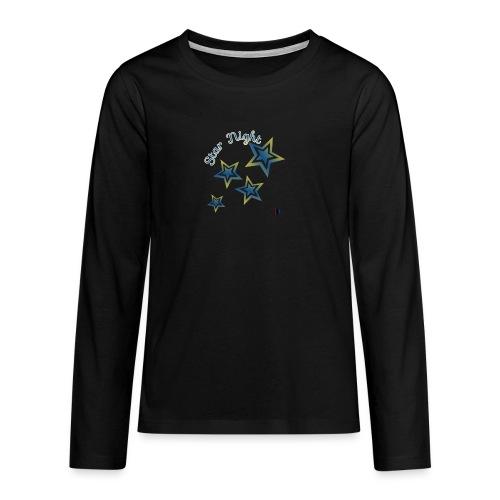 Star - Camiseta de manga larga premium adolescente
