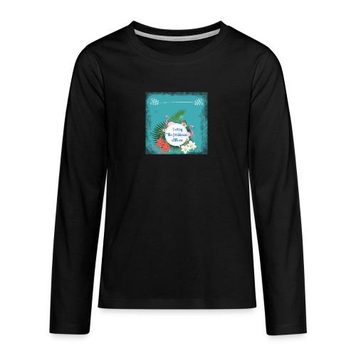 The caribean inside - Camiseta de manga larga premium adolescente
