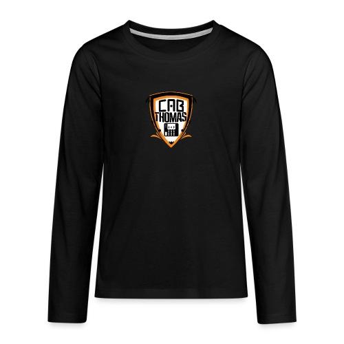 cab.thomas - alternativ Logo - Teenager Premium Langarmshirt