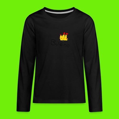 King Bueno Classic Merch - Teenagers' Premium Longsleeve Shirt
