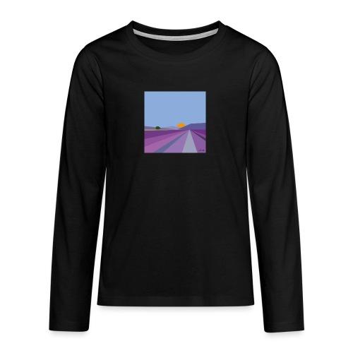 Lavande - T-shirt manches longues Premium Ado