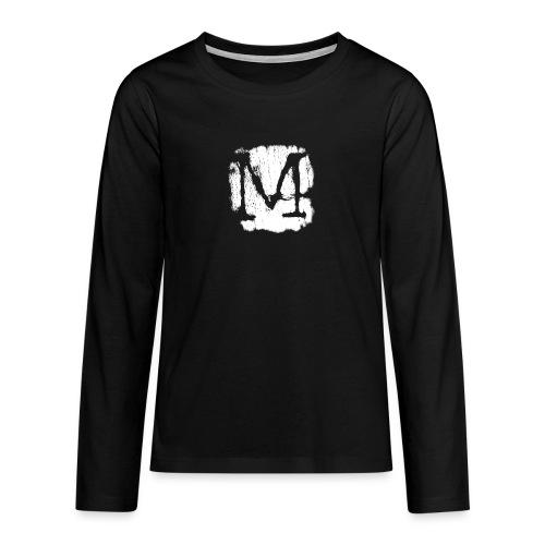 M2 - Maglietta Premium a manica lunga per teenager