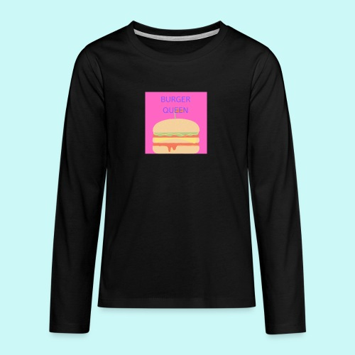 Burger Queen - Teenagers' Premium Longsleeve Shirt
