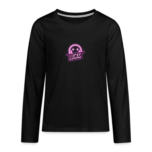 Lucas Artzzz (Smile) - Teenager Premium shirt met lange mouwen
