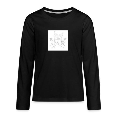 Marken Name Version 1 - Teenager Premium Langarmshirt