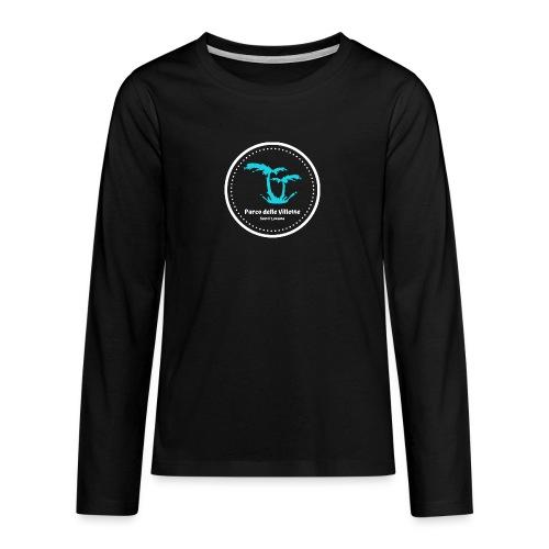 LOGO PARCO DELLE VILLETTE - Maglietta Premium a manica lunga per teenager