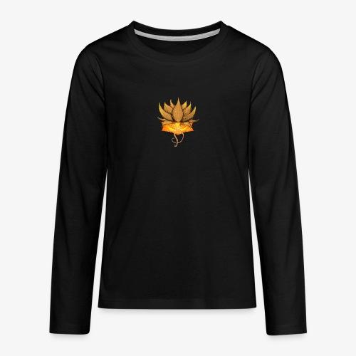 Lotus ventre chakra - T-shirt manches longues Premium Ado