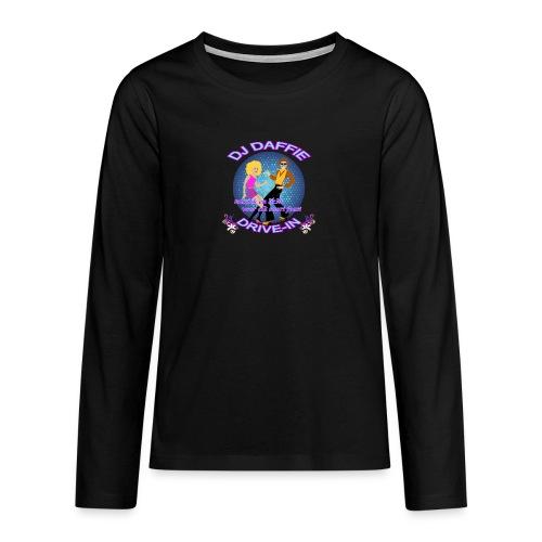 Logo2 png - Teenager Premium shirt met lange mouwen