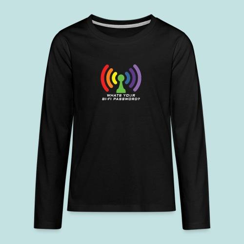 Bi-Fi - Teenagers' Premium Longsleeve Shirt
