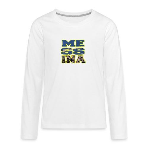 MESSINA YELLOW - Maglietta Premium a manica lunga per teenager