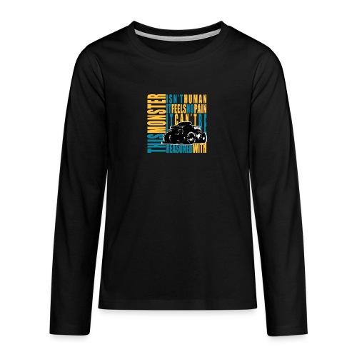 This monster - Koszulka Premium z długim rękawem dla nastolatków