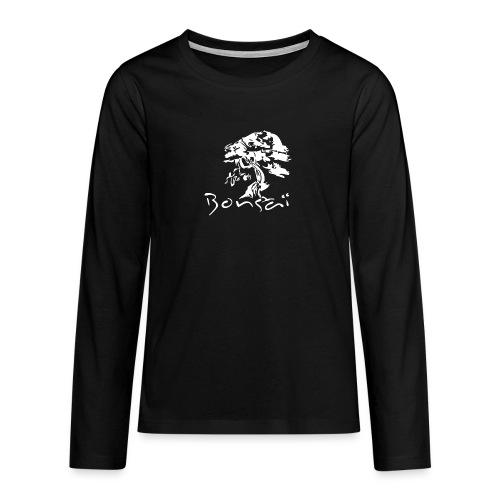 Tee-Shirt Homme Bonsaï Tree - T-shirt manches longues Premium Ado