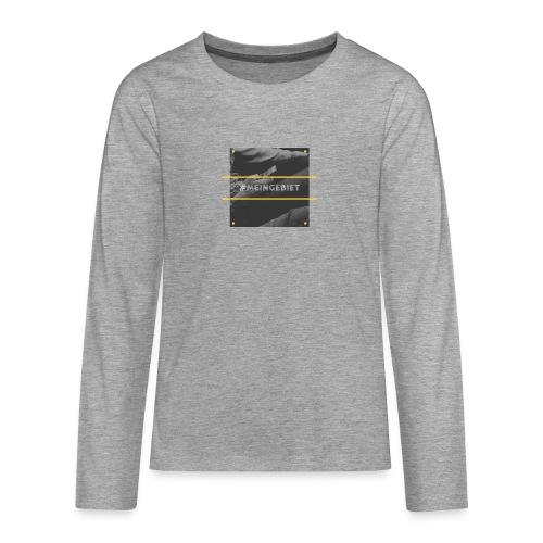 MeinGebiet - Teenager Premium Langarmshirt