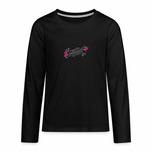 jasmin schmetterling - Teenager Premium Langarmshirt