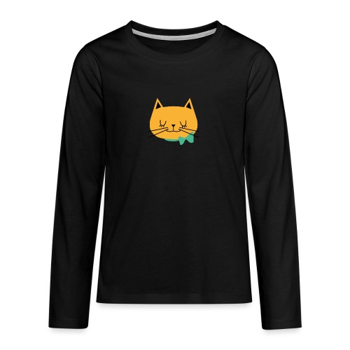 cat - T-shirt manches longues Premium Ado