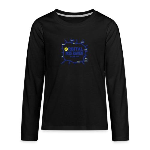 Orbital M25 Acid Hosue Raver - Teenagers' Premium Longsleeve Shirt