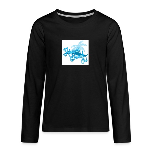 Hawaii Beach Club - Teenagers' Premium Longsleeve Shirt
