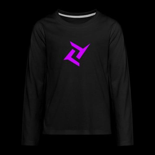 New logo png - Teenager Premium shirt met lange mouwen