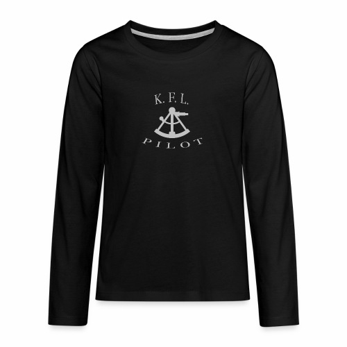 Sextant - Teenager premium T-shirt med lange ærmer
