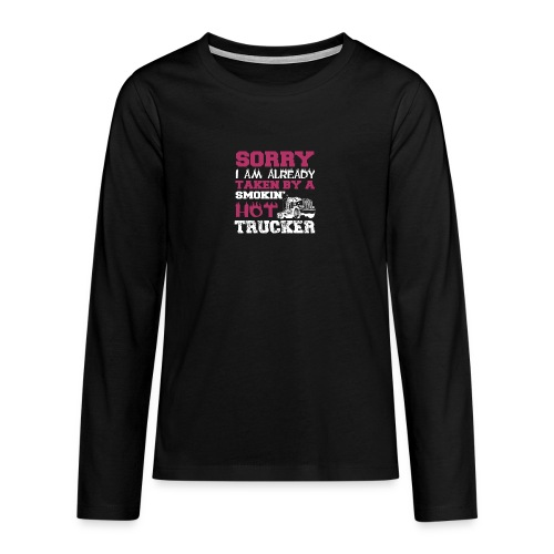 hot trucker - T-shirt manches longues Premium Ado