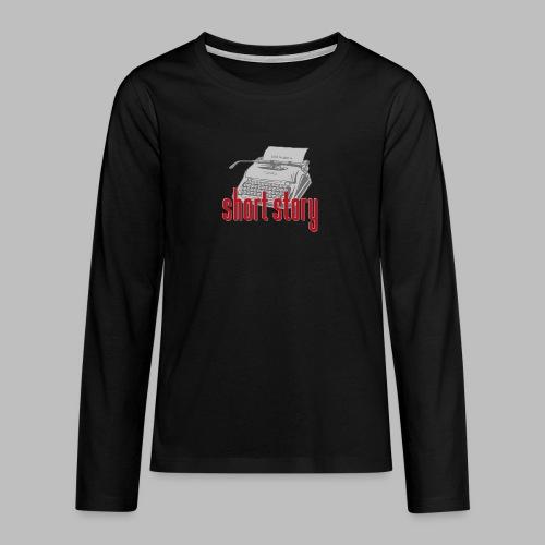 short story - Teenager Premium Langarmshirt