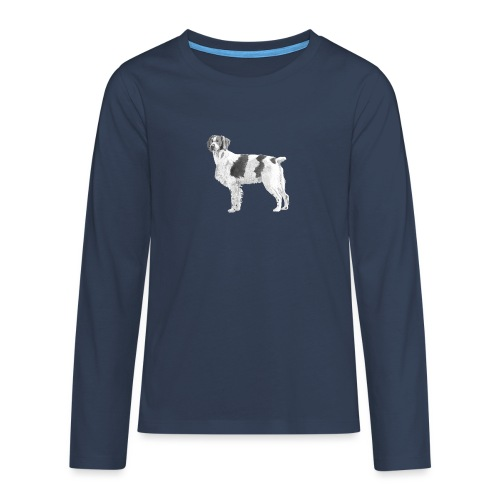 Brittany - Breton - Teenager premium T-shirt med lange ærmer