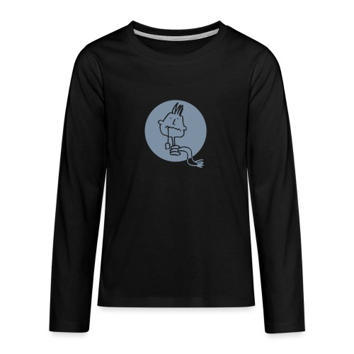 healthhead01rund - Teenager Premium Langarmshirt