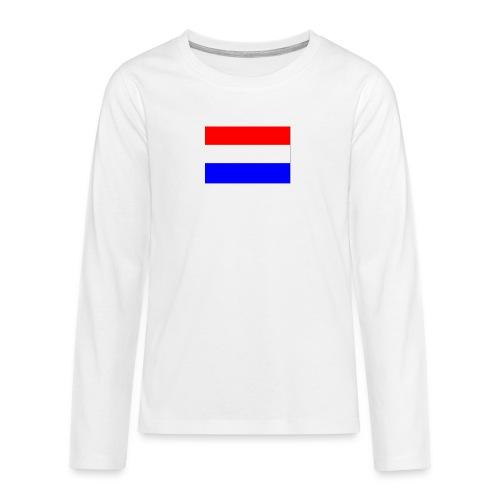vlag nl - Teenager Premium shirt met lange mouwen