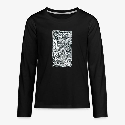 Anxiety Trip - Teenagers' Premium Longsleeve Shirt