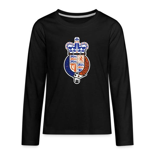 British Seal Pixellamb - Teenager Premium Langarmshirt