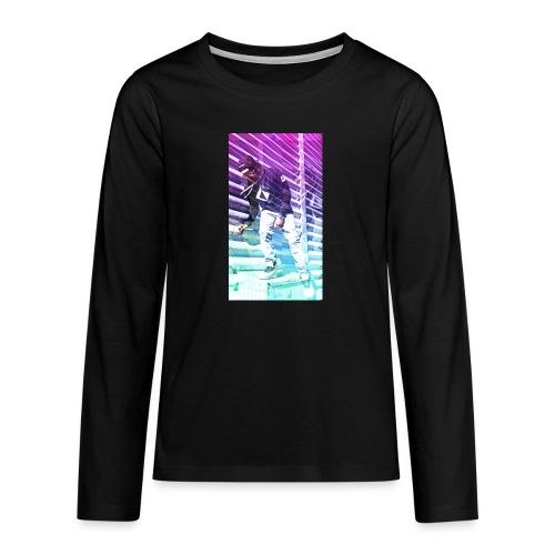 Neon HDR - Teenagers' Premium Longsleeve Shirt