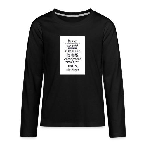 fun - T-shirt manches longues Premium Ado